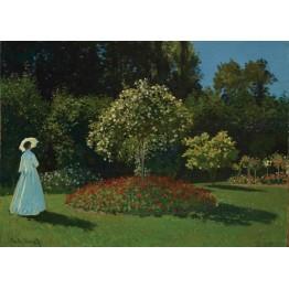 Marguerite Lecadre Bahçede