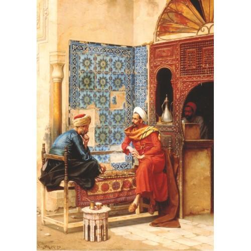 Satranç Oynayan İki Adam