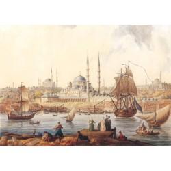 Yeni Camii ve İstanbul Limanı, 1789